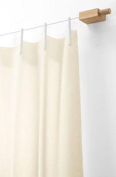 Rideau / Kit extension : 1 rideau supplémentaire Ready Made - Laine Blanc - Kvadrat - Décoration et mobilier design avec Made in Design