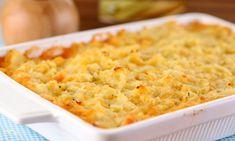 Receitas com Frango desfiado: dicas para variar o cardápio Carne, Mashed Potatoes, Macaroni And Cheese, Appetizers, Soup, Vegetables, Cooking, Ethnic Recipes, Kitchen