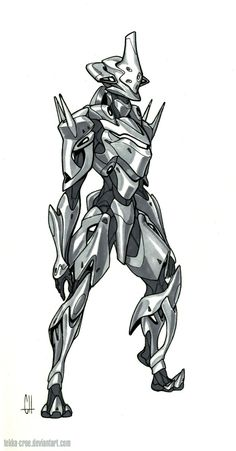 Inktober Day 30 (Corrupted Psion) by Tekka-Croe.deviantart.com on @DeviantArt