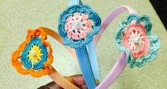 Hair band -crochet
