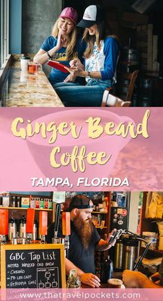 We've been searching for a local coffee shop in Tampa that has it all - good coffee (obviously), friendly service, plenty of seating and free wifi - and we finally found it: Ginger Beard Coffee!