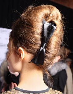 this bow. french twist