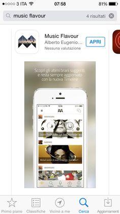 È uscita Music Flavour 3.0! Ora la musica è Social! Scarica su Apple Store cliccando qui: http://evpo.st/1BtWHD2