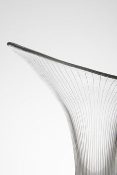 Tapio Wirkkala Kantarelli glass vase by Iittala at Studio Schalling Studio, Scandinavian, Glass Vase, Mid Century, Artist, Image, Design, Historia, Artists