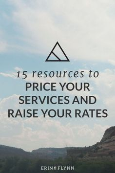 Having trouble pricing your freelance or small business services? Check out these great resources to price your services and raise your rates!