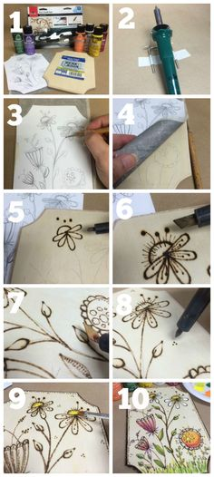 DIY Wood Burning: How To Tips & Project Patterns #plaidcrafts #Woodburning