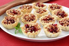 Savory Cranberry & Cheese Bites | Recipes for Healthy Meals, Low-Calorie Snacks & More | Hungry Girl