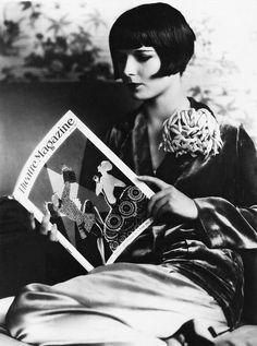 Louise Brooks, 1927: Eugene Robert Richee