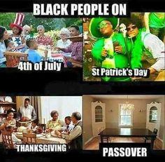 Get it together black people!