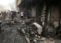 #Baghdad #blasts #kills 120...
