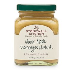 Mini Maine Maple Champagne Mustard