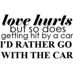 I'd rather have the car take the problem away, and leave me at home :) .