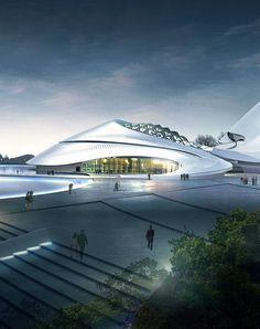 Harbin Cultural Centre by MAD #architecture ☮k☮