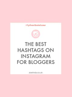 Forget using random hashtags (no matter how popular they are) and take a look at my top picks for the very best hashtags to use on Instagram for bloggers.