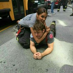 Monica Raymund & Jesse Spencer