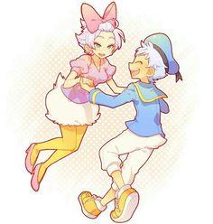 Daisy and Donald
