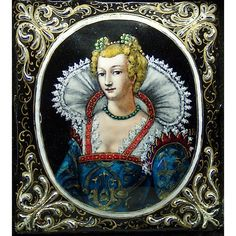 16th c. Limoges enamel portrait, Joseph Raymond (fl. 1590-1625) and from turtlerock on Ruby Lane