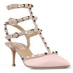 Sandales cloutées roses Valentino - Le dressing de captendance