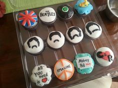 The Beatles Cupcakes