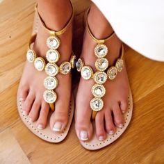 21fe3c43efef20 Love my mystique sandals! Gold SandalsGladiator ...