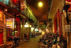 Hanoi, Vietnam. The Old Quarter.