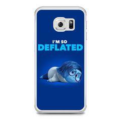 Sadness I'm So Deflated Samsung Galaxy S6 Edge Case