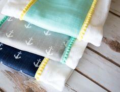 burp cloth tutorial 2