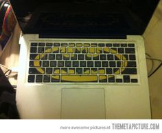 Batman Macbook Keyboard Stickers