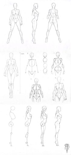 Sketch | Drawing | Female Body | Bosquejo | Dibujo | Cuerpo Femenino 1 by adrienne