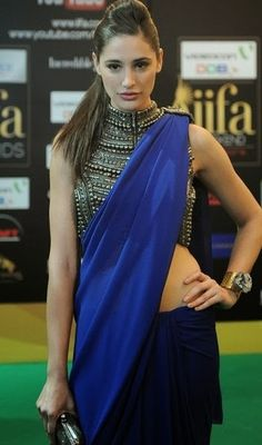 Nargis Fakhri in Saree