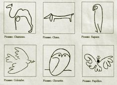 Picasso's animal drawings - would love a print of these for Tilly's room