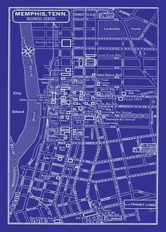 323 best memphis images on pinterest memories remember this and what vintage map of memphis blueprint perfect for anyone who needs some decoration pair malvernweather Images