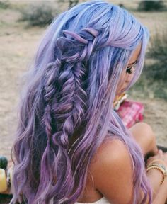 awesome Top 40 Most Fun and Feminine Boho Hairstyles -- Choose What You Like Check more at http://newaylook.com/best-boho-hairstyles/