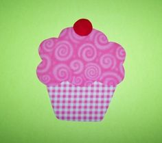 Applique TEMPLATE Pattern ONLY Cupcake by etsykim on Etsy, $1.50