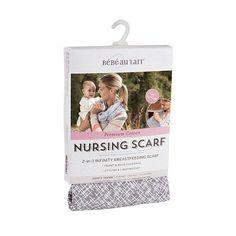 """Bebe Au Lait Cotton Jersey Nursing Scarf - Lexington - Bebe Au Lait - Babies """"R"""" Us"""