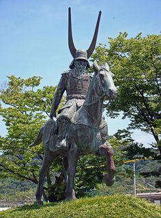 The statue of Ii Naomasa