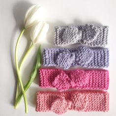 Knitted Topknot Headband, Baby, Toddler, Child