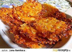 Parmazánové chipsy recept - TopRecepty.cz