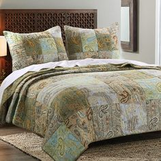 Greenland Home Fashions Paisley Dream Quilt Set - JCPenney