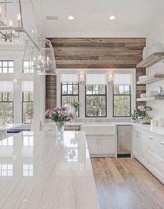 Home Decor Inspiration : Cool 60 Best Modern Farmhouse Kitchen Decor Ideas homearchite.com/ centopho