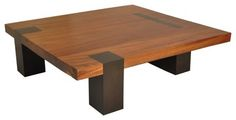 coffee table | Tamburil Coffee Table - Walnut Legs - contemporary - coffee tables ...