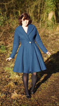 Yes, you may not believe it, but this wool coat is definitely like wearing secret pyjamas. It literally feels like snuggling up in a dressing gown. Bliss. I've been looking for a princess coa…