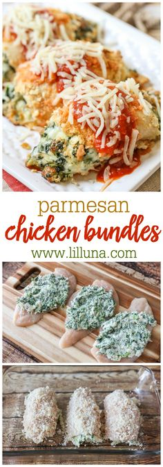 Chicken Parmesan Bundles