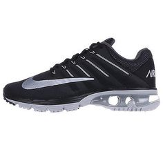 Nike Air Max Excellerate 4 Mens 806770-010 Black Grey Running Shoes Size 8.5