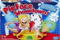 The original Pie Face game was so much fun that it created a demand for even more fun games along the same line. With that in mind comes the Pie Face Showdown! Game – part of Walmart's Hottest 25 Toys of 2016 list.