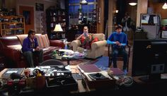 Sheldon & Leonard apartment