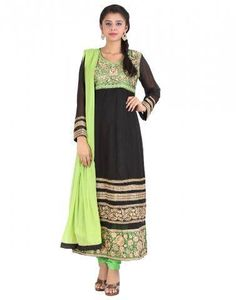 My Passion is Fasion #Salwars #Black #Green  The moment you realize how important fashion is, FConnexions leads to right choice Shine with Fconnexions Salwar collection  #Shopping #Offers #Onlineshopping #Boutique #LadiesFashion
