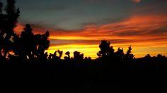 Fiery Sunset by stacie macon on Capture My Arizona // monsoon sunset