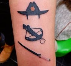 The Walking Dead Tattoo Ideas | Cool Tattoos Inspired by The Walking Dead                                                                                                                                                                                 Mais