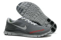 best cheap aa9c3 42a57 Wolf Grey Reflective Silver Cool Grey Nike Free 4.0 V2 Men s Running Shoes   Pink Free